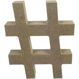 Smooth MDF Blank Shape # Shape