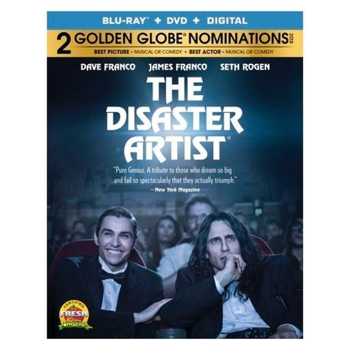 Disaster artist (blu ray/dvd w/digital) RXTHKW0TDZBCQ7YU