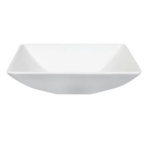 Kingston Brass EVA16165 16 x 16 x 5 in. Gourmetier Solid Surface Resin Vessel Sink, White