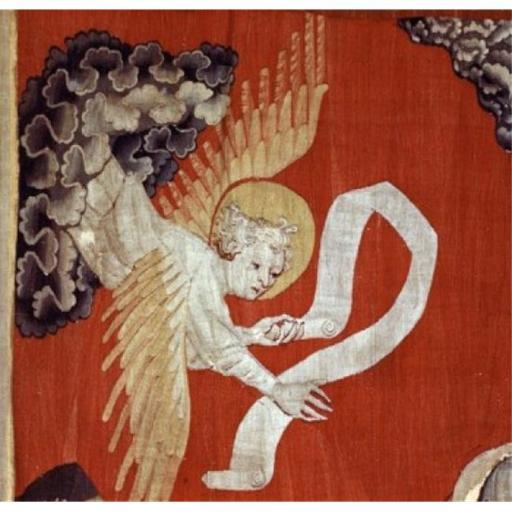 Posterazzi SAL9001132 Apocalypse Angel Detail Tapestry & Textiles Poster Print - 18 x 24 in.