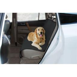 Yes Pets 59-90306BLK Oxford Waterproof, Tear Proof Bench Style Car Seat Cover - 100 Percent Polyester, Black