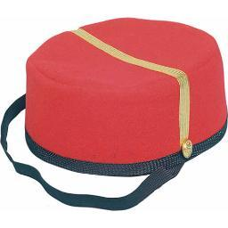 Bell Boy Hat Red Cap Grand Budapest Hotel Movie Costume Accessory Adult Mens