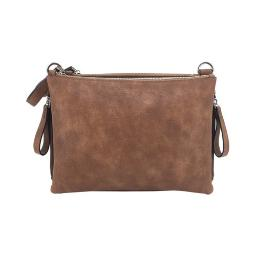 Cameleon 49151 cameleon iris concealed carry purse-cross body style brown