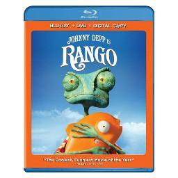 Rango blu ray/dvd combo pack w/digital copy (ws/eng 5.1 dts-hdnla BR143904