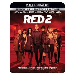 Red 2 blu ray/4kuhd/ultraviolet/digital hd BR52675