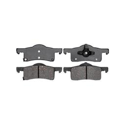 Acdelco 17d935c professional ceramic rear disc brake pad set