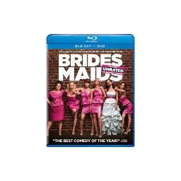 BRIDESMAIDS BLU RAY/DVD/DC COMBO PACK (ENG SDH/SPAN/FREN/WS/2DISCS) 25192112317