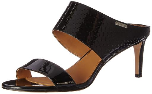 95b9a931951 Calvin Klein Calvin Klein Cecily Wide-Strap Mule Sandals