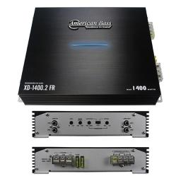 American Bass XD14002 1400 watt Max 2 Channel Amplifier