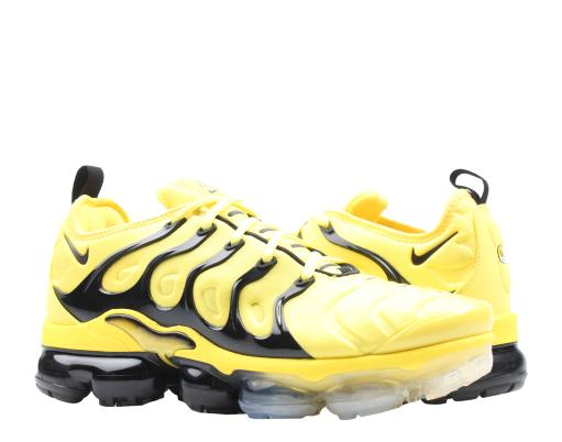 sports shoes ce256 d045e Nike Air Vapormax Plus Opti Yellow/Black Men's Running Shoes BV6046-001