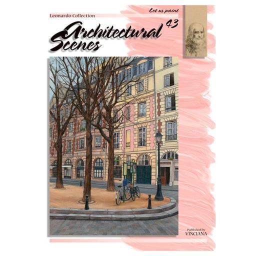 Martin f. weber lc43 book leonardo architectural scenes