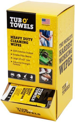 "Tub O' Towels Gravity Feed Box 10""X12"" 100/Pkg- QMDIFWE3TPRORQHZ"