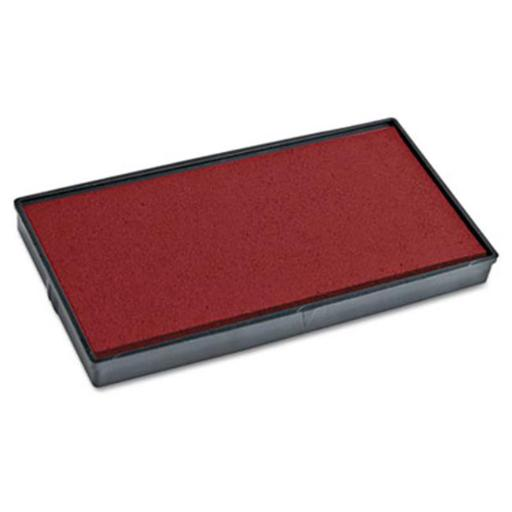 2000 PLUS Replacement Ink Pad for Printer P40 & Dual Pad Printer P40, Red