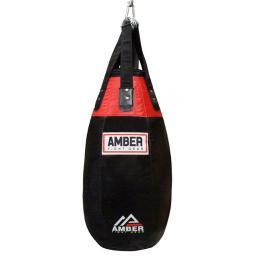 Amber Fight Gear Atp-1001-f-60 60 Lbs Filled Tear Drop Heavy Bag