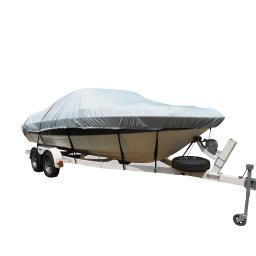 Carver flex-fit pro polyester size 9 boat cover f/ pontoon