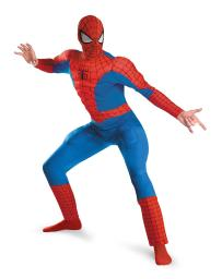 Spider Man Deluxe Muscle Plus Adult Costume Size 1X 2X 50 52 DG50188C