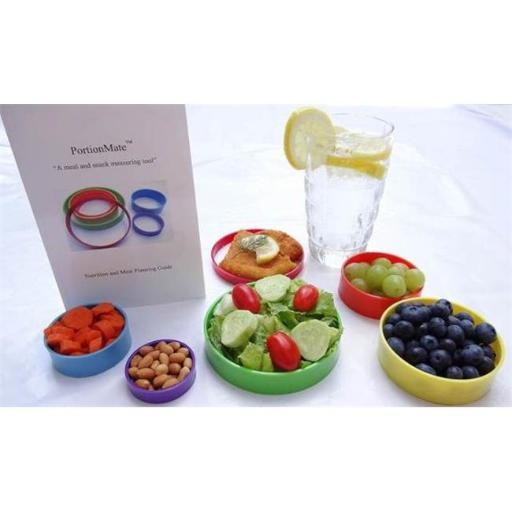 PortionMate - Meal Portion Control Rings and Nutrition Tool