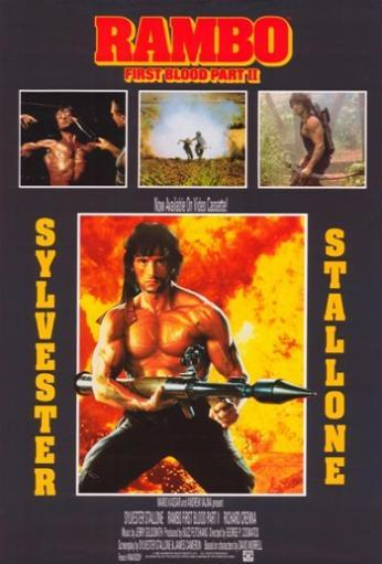 Rambo First Blood Part 2 Movie Poster (11 x 17) 8DPQ5O25FTOX8VML