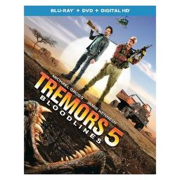 TREMORS 5-BLOODLINES (BLU RAY/DVD W/DIGITAL HD) (2DISCS) 25192278402