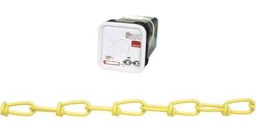 Campbell Chain Pd0752496 Double Loop (inco) Chain 200' - Yellow