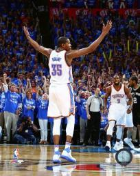 Kevin Durant 2016 NBA Playoff Action Photo Print PFSAATA10601