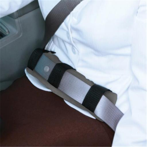 Living Health Products LSP-001-01 Lap Seatbelt Pad Grey