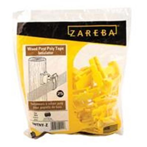 WOODSTREAM ZAREBA-IWTNY-Z Zareba Wood Post Poly Tape Insulator