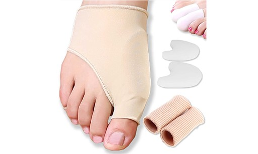 Premium Gel Pad Bunion, Hallux Valgus Sleeves And Bunion Protector Bunionpal Kit For Women And Men-8 Pcs 24C514BBE99CAFD