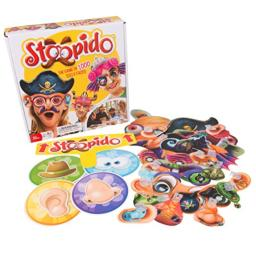 Stoopido - the Game of 1000 Silly Faces - Includes 25 Double-Sided Face Masks for Endless Combinations - Ages 6+