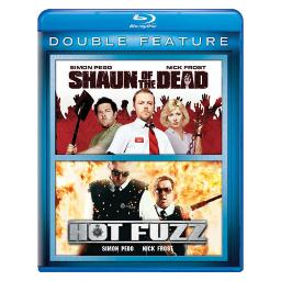 Shaun of the dead/hot fuzz 2pk (blu ray/double feature/2discs) BR61127079