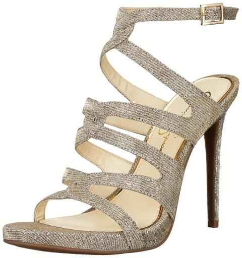 bef8e4941aa Jessica Simpson Womens Reyse Open Toe Special Occasion Strappy Sandals