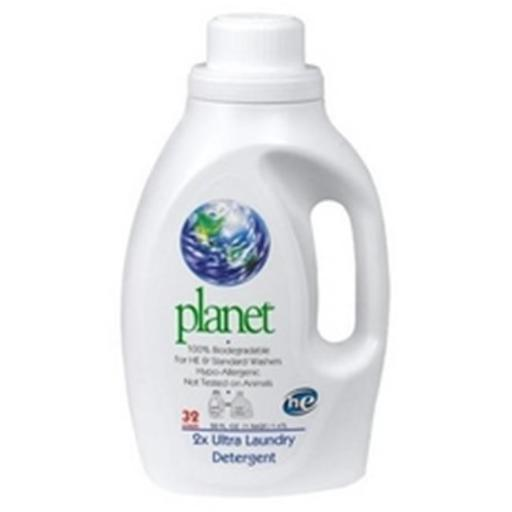 Planet, Inc. B66324 Planet Inc. 2X ULtra Laundry Detergent - 4x50Oz 63D1865597F0D272