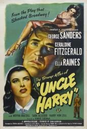 The Strange Affair of Uncle Harry Movie Poster (11 x 17) MOVEI8352