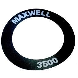 Maxwell 3856 label 3500