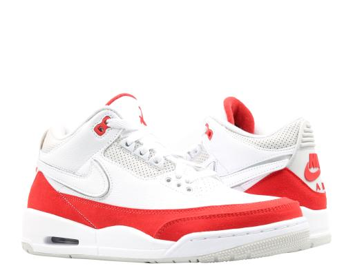 cd1cb59d63e Nike Air Jordan 3 Retro Tinker AM1 White/Red Men's Basketball Shoes  CJ0939-100