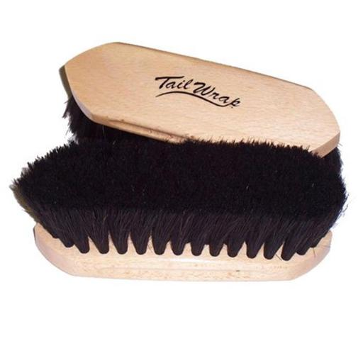 TailWrap Horse 245524 8.25 x 8.25 in. Wood Block Horse Hair Brush UKHV4UN8DCYUAFJV