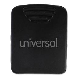 Universal Office Products 21270 5.25 x 2.08 in. Fabric Panel Wall Clips, Black - 20 per Pack