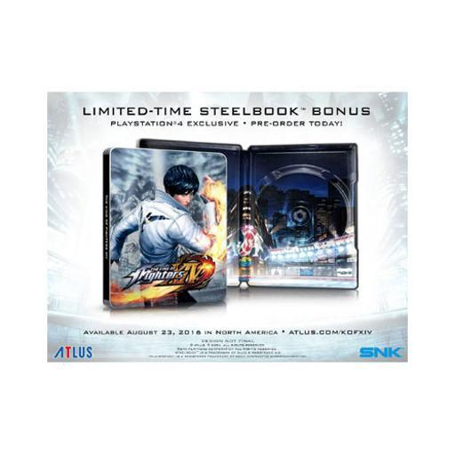 King of fighters xiv steelbook edition(game & ltime steelbook) 8PFDFE5OPF40T0QI