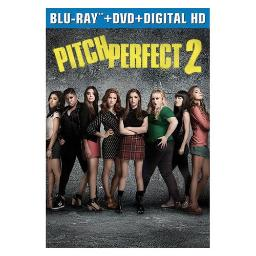 PITCH PERFECT 2 (BLU RAY/DVD W/DIGITAL HD) 25192242090