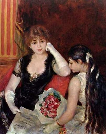 At The Concert Poster Print by Pierre-Auguste Renoir 8YU3IG23O5QVBSBL