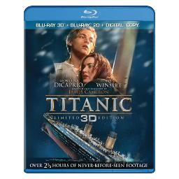 Titanic 4-disc collection (3d-br/2d-br/dvd/dc/uv) BR146824