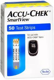 Accu-chek Smartview Test Strips - 50 Count