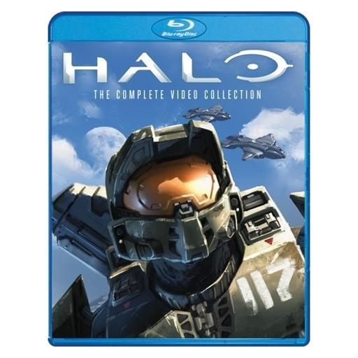 Halo-complete video collection (blu ray) (ws/1.78:1/5disc) 1490822