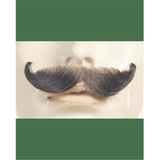 Morris Costumes LW412CBL English Synthetic Mustache, No.22 Champagne Blonde