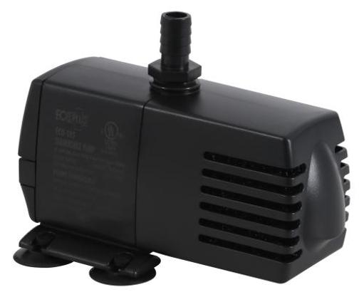 EcoPlus Eco Fixed Flow Rate Submersible Pumps EcoPlus Eco 185 Submersible Pump 158 GPH (605 LPH, 10.5W) w/ 6 ft Cord