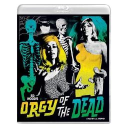 Orgy of the dead (blu ray/dvd combo) (2discs/ws/1.85:1) BRVS186