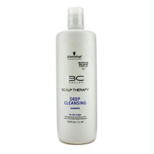 Schwarzkopf 16627300744 BC Scalp Therapy Deep Cleansing Shampoo - For Oily Scalps - 1000ml-33.8oz P3KM5ZPZCMLHLB1L