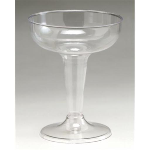 4 oz. Plastic Champagne Glass 6 Count - Case of 9 QRH8VG9ETDU0EVSK