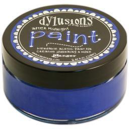 Dylusions By Dyan Reaveley Blendable Acrylic Paint 2oz After Midnight