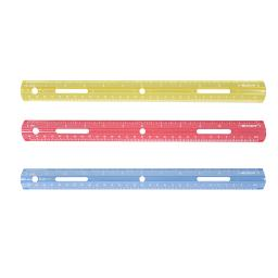 Acme united corporation plastic ruler 12in 10526